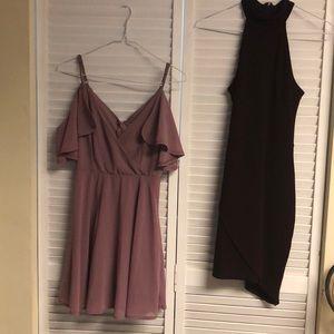 Formal dress duo
